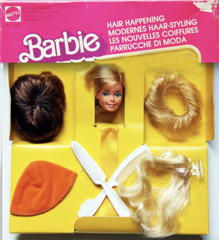BARBIE SUPERSTAR HAIR HAPPENING DE 1978.