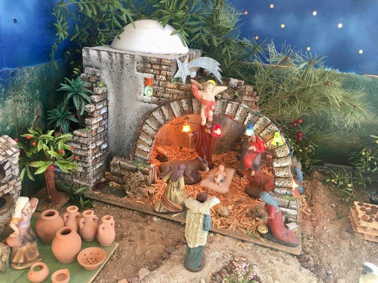 Crèche  de Noël 2017 !!!
