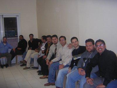 le pasteur samuel et quelque frére de perpignan a l'ècole biblique en 2005