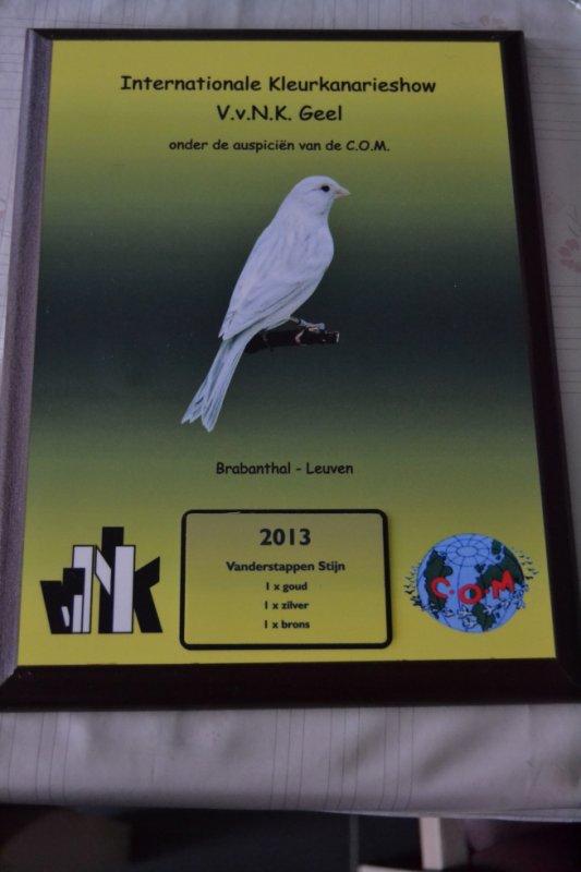 eerste medaille op de vvnk in Leuven :)