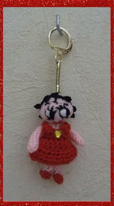 Porte clés Betty Boop