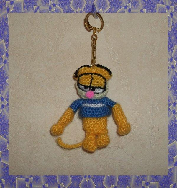 Porte clés Garfield