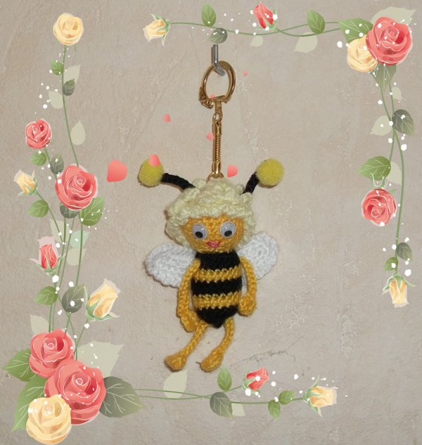 Porte clé Maya l'abeille