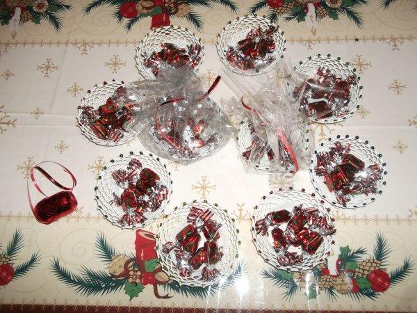 Ouvrages offerts pour le marché de Noël de l'école de ma fille Amélie