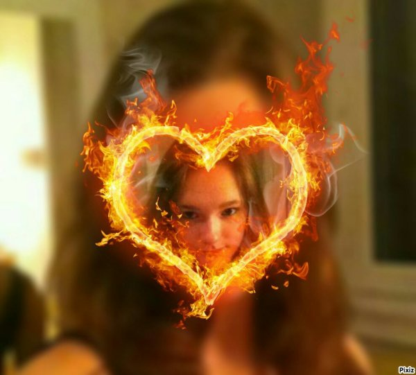 J'ai le coeur en flamme