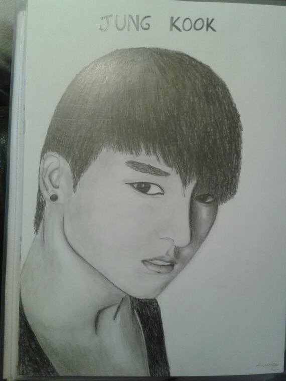 Portrait Jung kook
