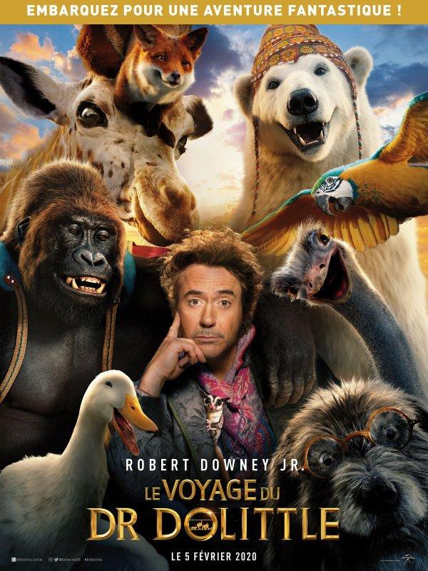 Le voyage du docteur Dolittle . Génial ce film! À voir mes amies et amis