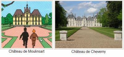 Ch teau de moulinsart le monde de tintin - Le chateau de moulinsart ...