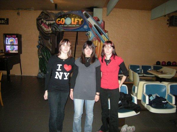 Edwina, moi et Anna