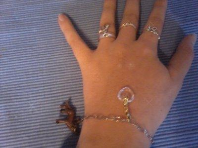 Bracelet que Bella porte dans Eclipse je l'avais commandé en France :D