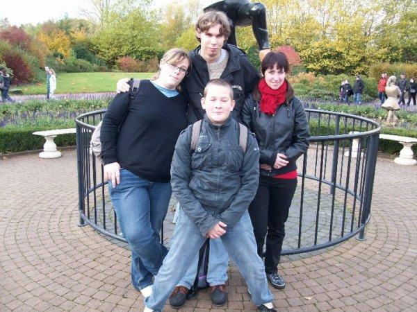 Journée à Walibi avec Cécile, Guillaume, Jérôme et Jimmy