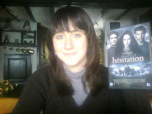 Me voilà avec mon dvd :D