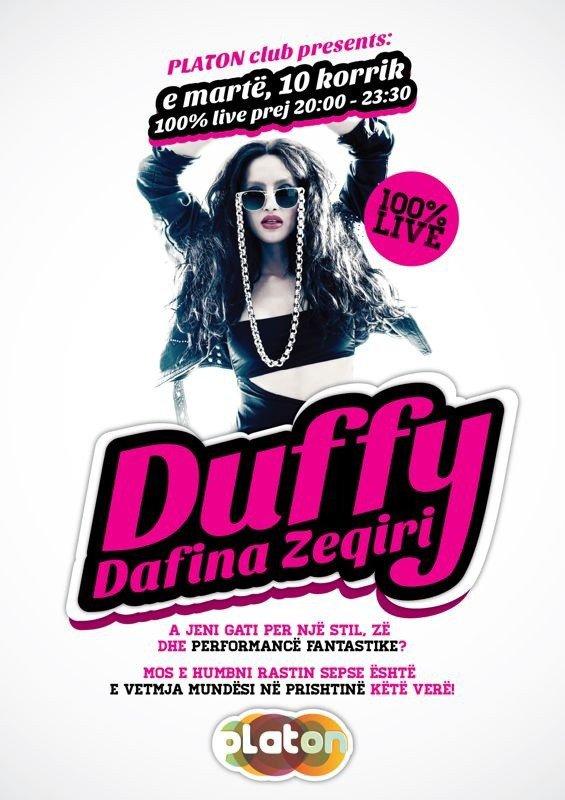 Dafina Zeqiri - Duffy'e - 2o12