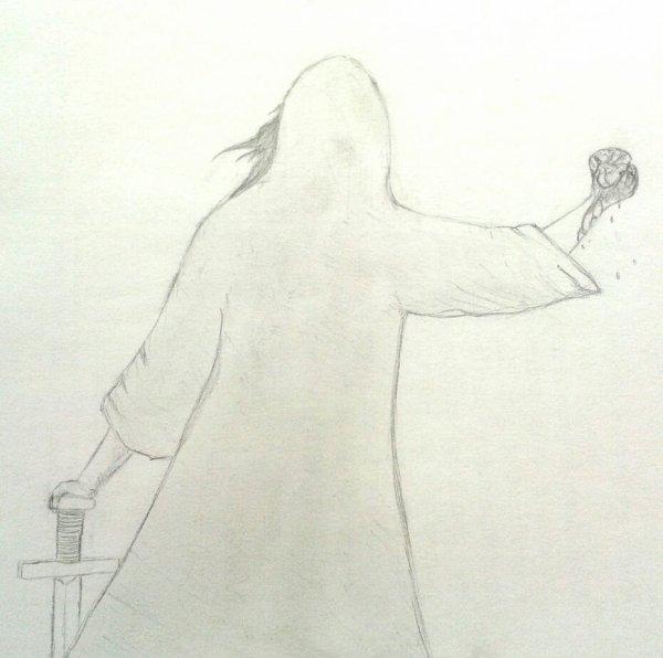 Allez un petit dessin fait par moi en début d'année ^^ vous le trouvez comment ? :)