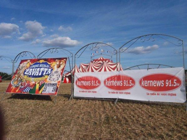 dernier jour pour le cirque Nicolas zavatta (fredo douchet ) à Guérande ;)