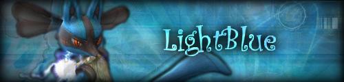 LightBlue, ma Lucario