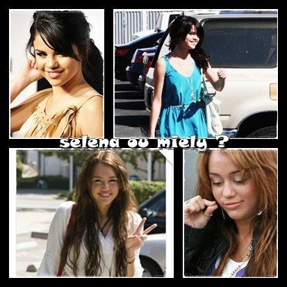 Alors Selena ou Miley ???