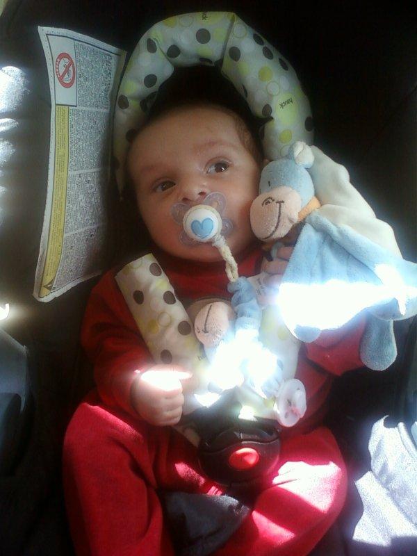 deja 1 mois et demi hé oui mon bébé a deja 1 mois et demi