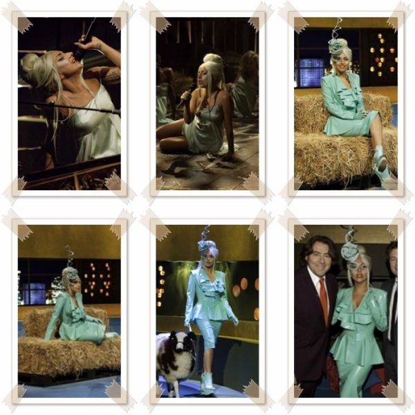 O6/10: Gaga a été vue sortant des studio ITV