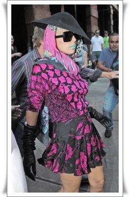 09/10 : Gaga est de retour a New York après un très court séjour a Londres