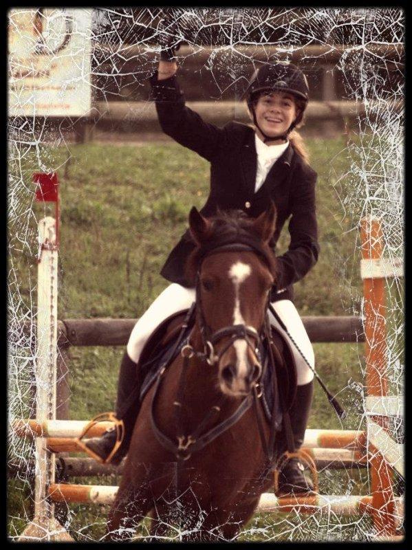 « L'équitation, le seul sport individuel qui se pratique à deux. »  ♥
