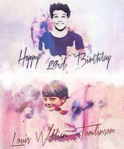 Bonne anniversaire Louis!