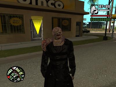 CJ fusionne avec un zombie