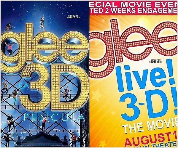 """GLEE TOUR 3D ▬ Decouvrez des stills pour le film evenement """"Glee tour 3D"""" ."""