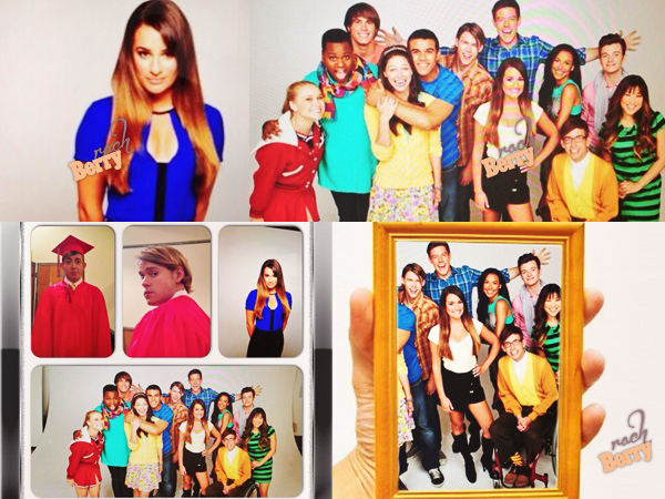 28TH June 2013 // Léa sur le set du photoshoot promotionnel pour la cinquième saison de Glee