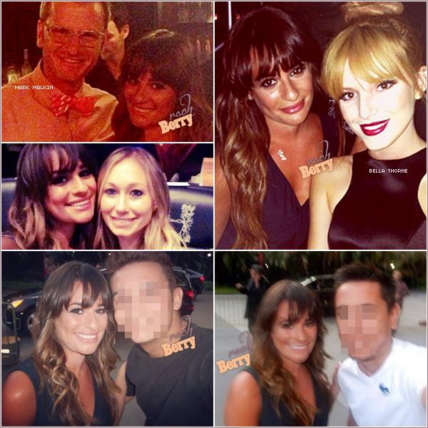 1ST JULY 2013 // Léa et son amie etaient au concert de Beyoncé au Staple Center a Los Angeles!  + Lors de cette soirée Lea a posée avec des fans , Bella Thorne ou encore Mark Malkin