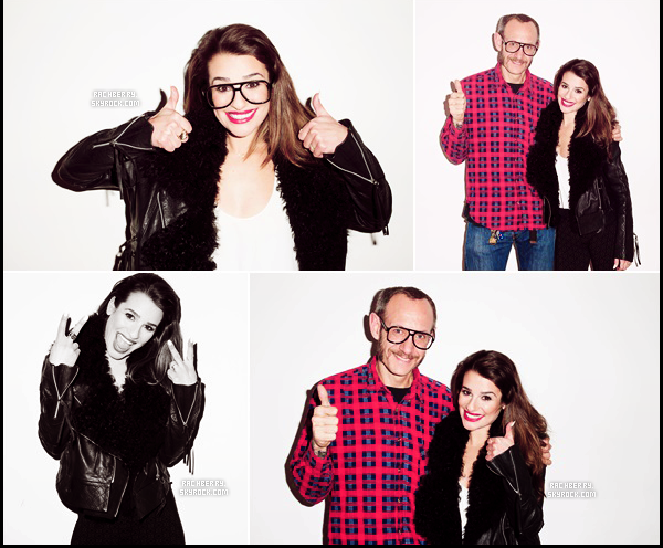 "PHOTOSHOOT // Lea pose sous l'objectif du celebre photographe Terry Richardson pour ""V Magazine"" (Avril 2014)."
