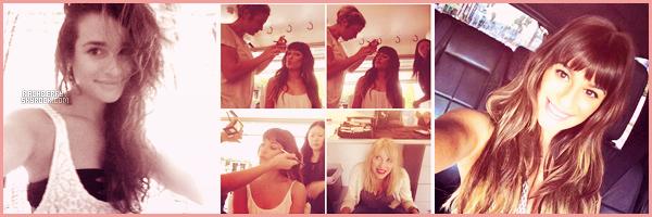 """MARCH 22ND// Lea a donnée une séance de dédicasse a San Diego pour la promo de son album """"Louder""""."""