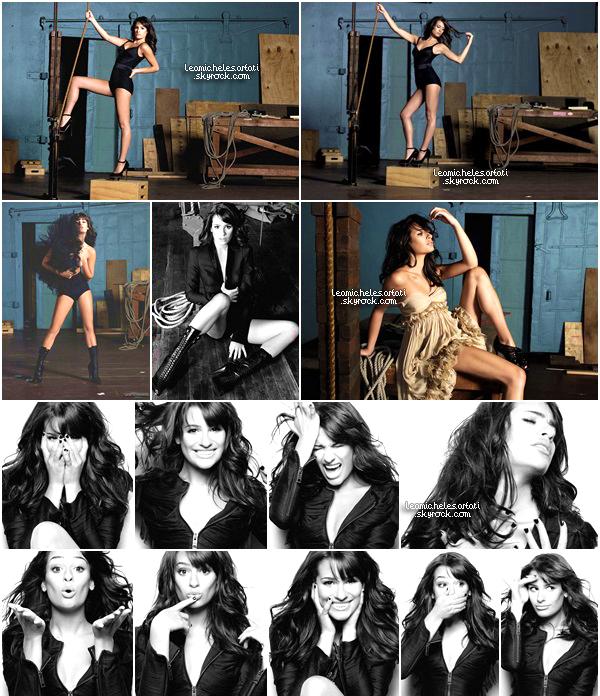 """PHOTOSHOOT ▬  Découvrez un sublime photoshoot datant de 2010 réalisé par Lea pour le magazine """"Marie Claire UK """"."""