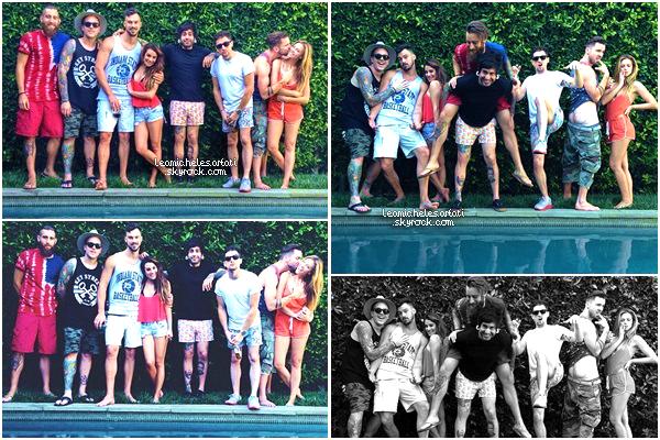 ·•• MAY 26THl Lea a passé la journée du Memorial Day avec des amis, voici des photos perso issue de cette journée.