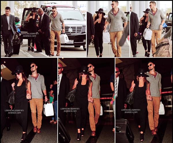 JULY 15TH // Notre jolie Lea a été apercue a l'aéroport de LAX Matthew direction l'Italie (voir vidéo).