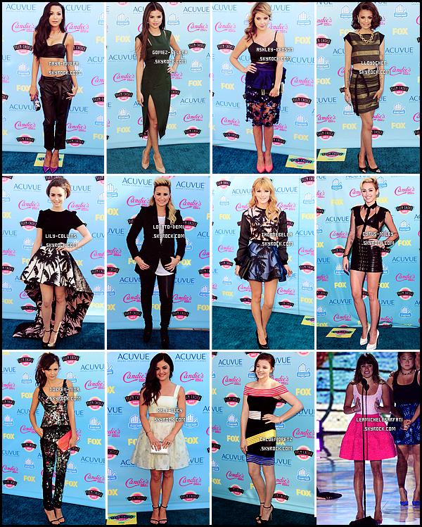 * *_● ● ● COLLABORATION // TEEN CHOICE AWARDS      Les Teen Choice Awards 2014 arrivant à grand pas, profites-en pour voter pour ta tenue préféré de l'année dernière !