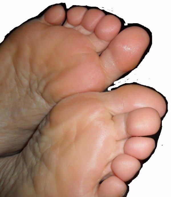 pour une fois ses pieds au naturel