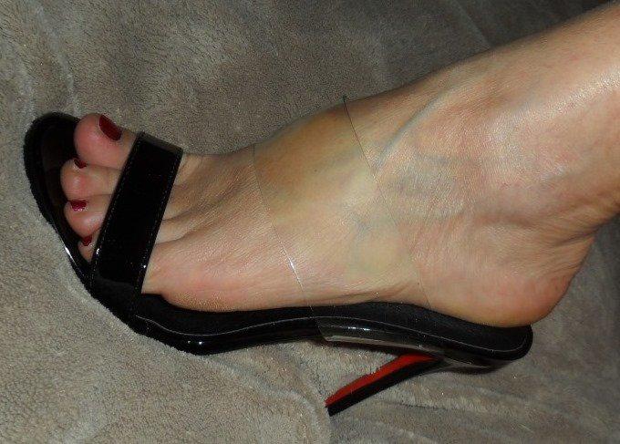 mes chaussures pour le réveillon pat n'a pas tenu