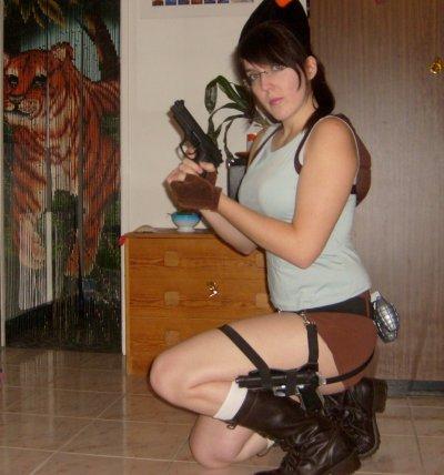Quelques articles hors-sujet: Mon cosplay Lara Croft! 1ère photo!