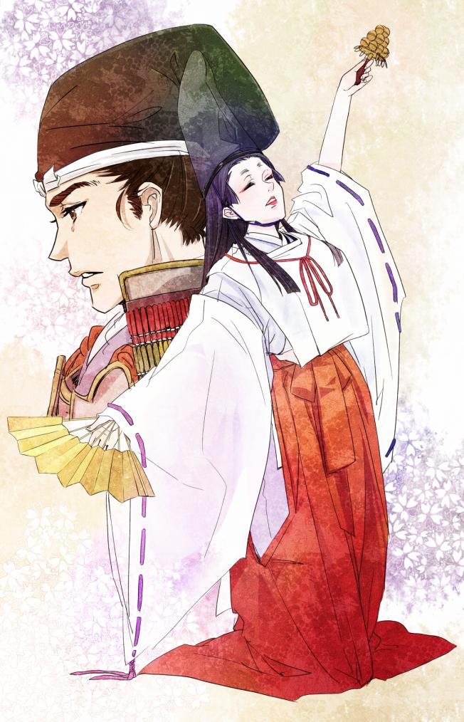 白拍子 Danceuses Shirabyôshi (Part.1):