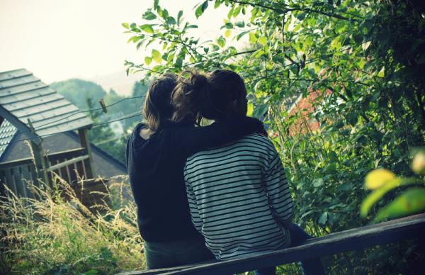 T'es la plus belle chose que j'ai sérée dans mes bras