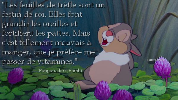 Articles De Disney Away Taggés Bambi Des Citations