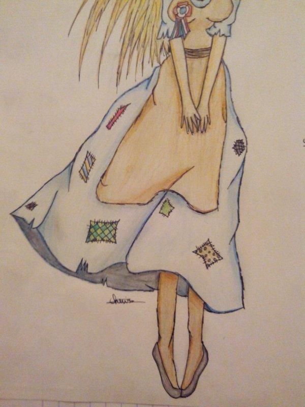 Un dessin que j'ai fait pour un devoir d'histoire ^^