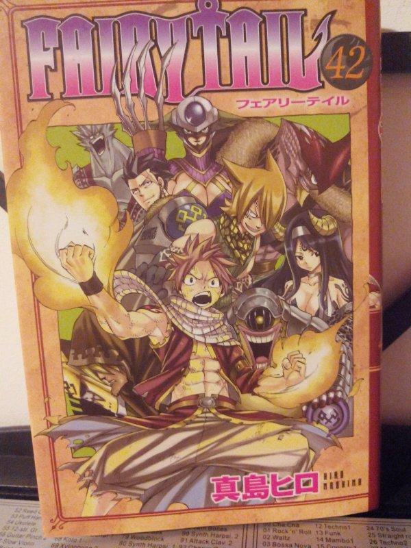 Tome 42 de Fairy Tail ;D