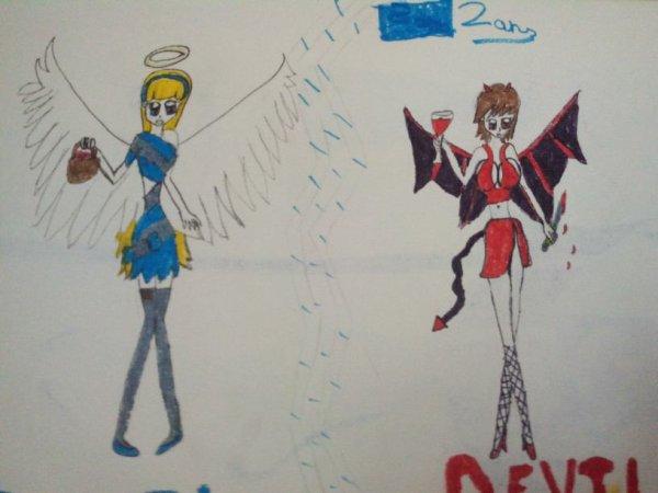 Angelica et Demonica : L'évolution xD
