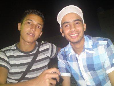moi et  youcef chriki