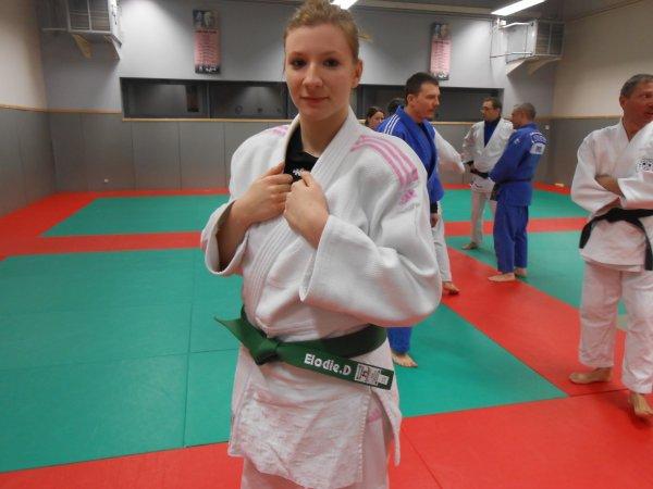 Portrait d'une judokate