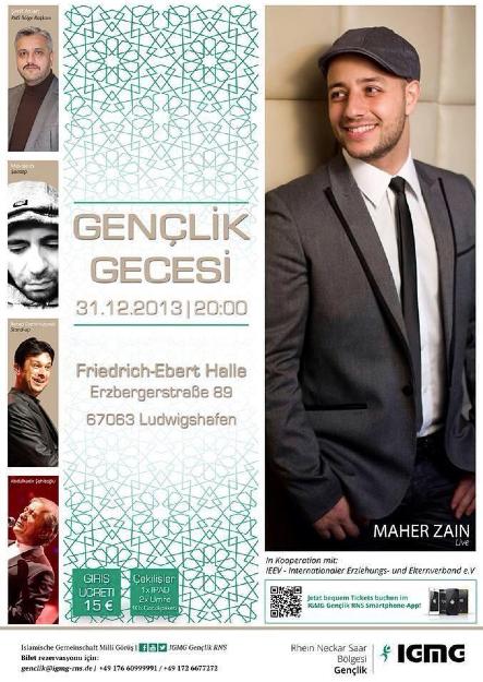 In Deutschland, I will go in Deutschland for see Maher Zain insha allah i am verry happy