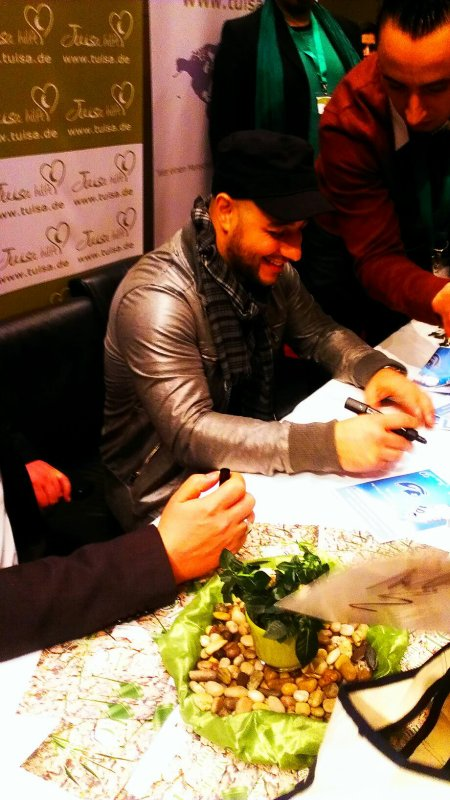 Me yesterday in essen for the concert of Maher Zain