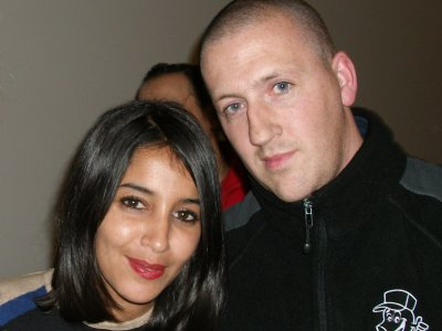 moi et leila bekhti 06/12/2011